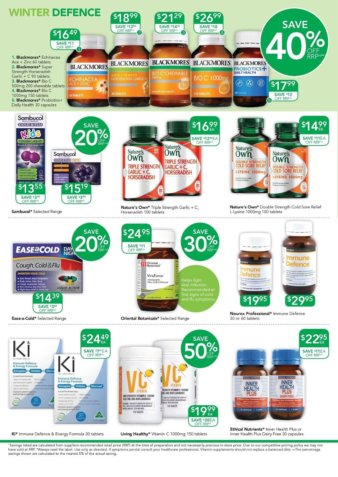 TerryWhite Chemmart catalogue  - 17.5.2018 - 5.6.2018. Page 4.