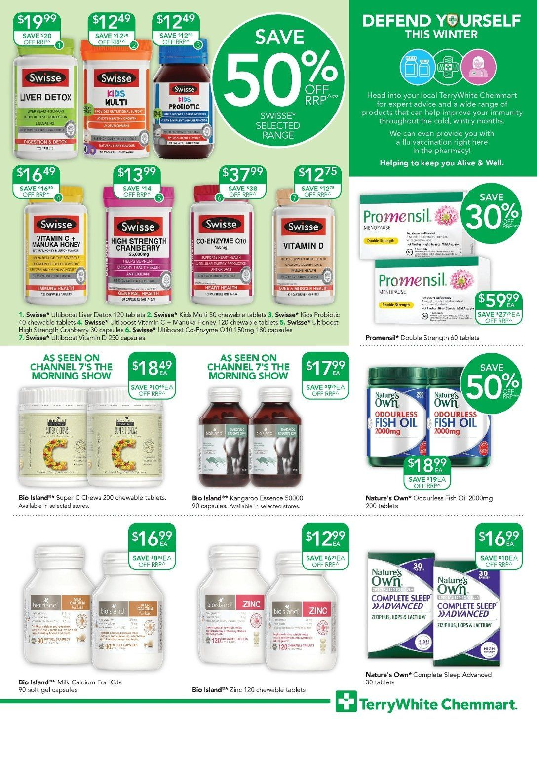 TerryWhite Chemmart catalogue  - 17.5.2018 - 5.6.2018. Page 5.
