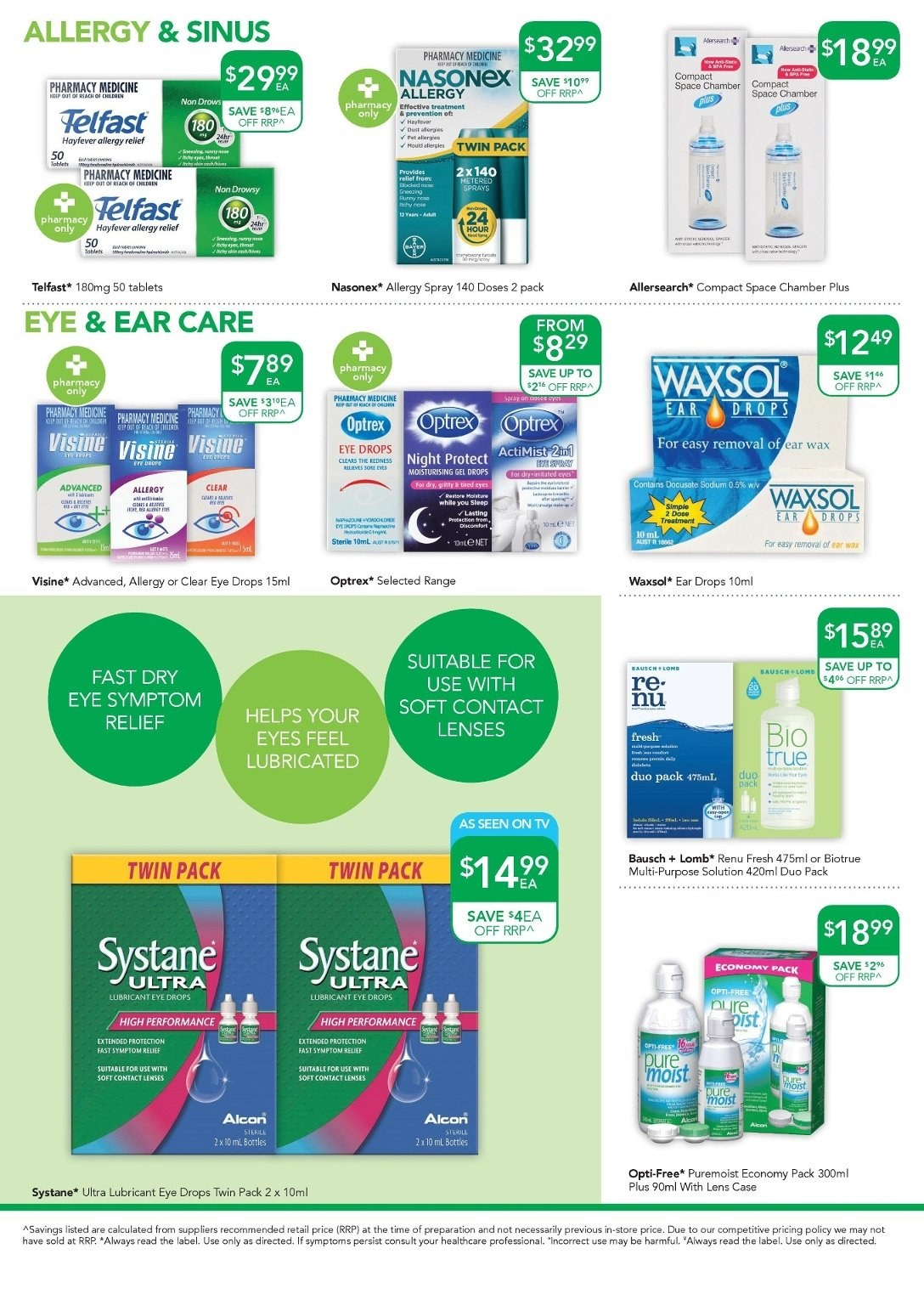TerryWhite Chemmart catalogue  - 17.5.2018 - 5.6.2018. Page 8.
