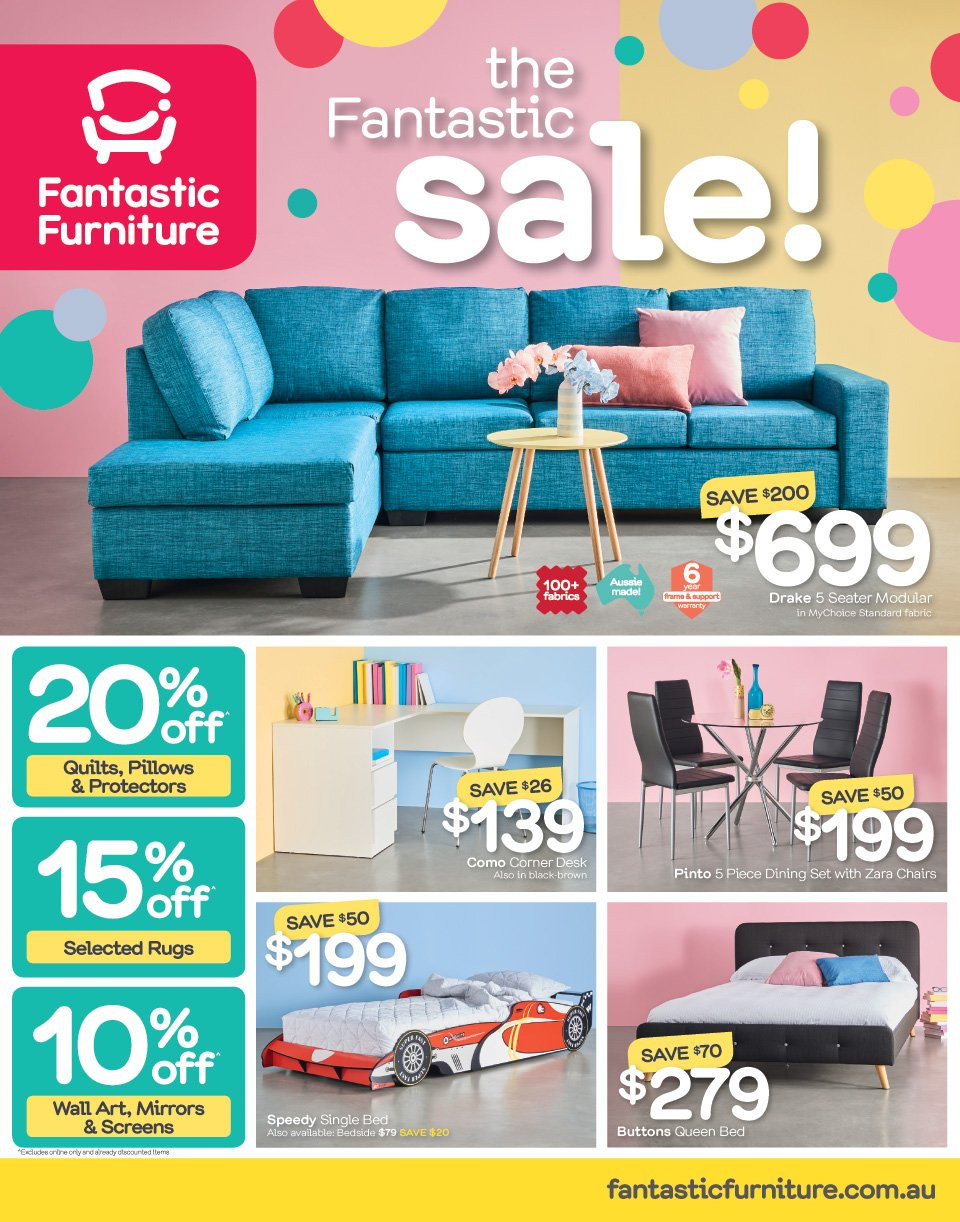 Fantastic Furniture catalogue  - 21.5.2018 - 17.6.2018. Page 1.