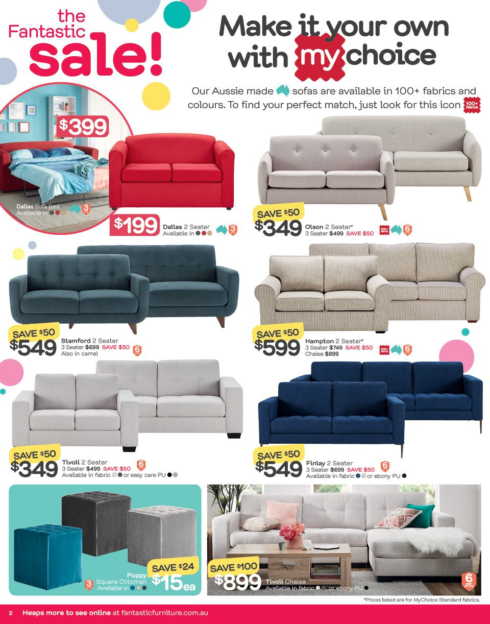 Fantastic Furniture catalogue  - 21.5.2018 - 17.6.2018. Page 2.