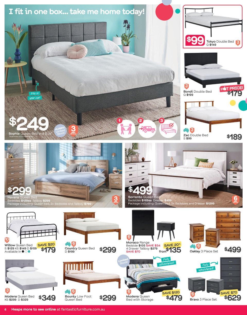 Fantastic Furniture catalogue  - 21.5.2018 - 17.6.2018. Page 6.