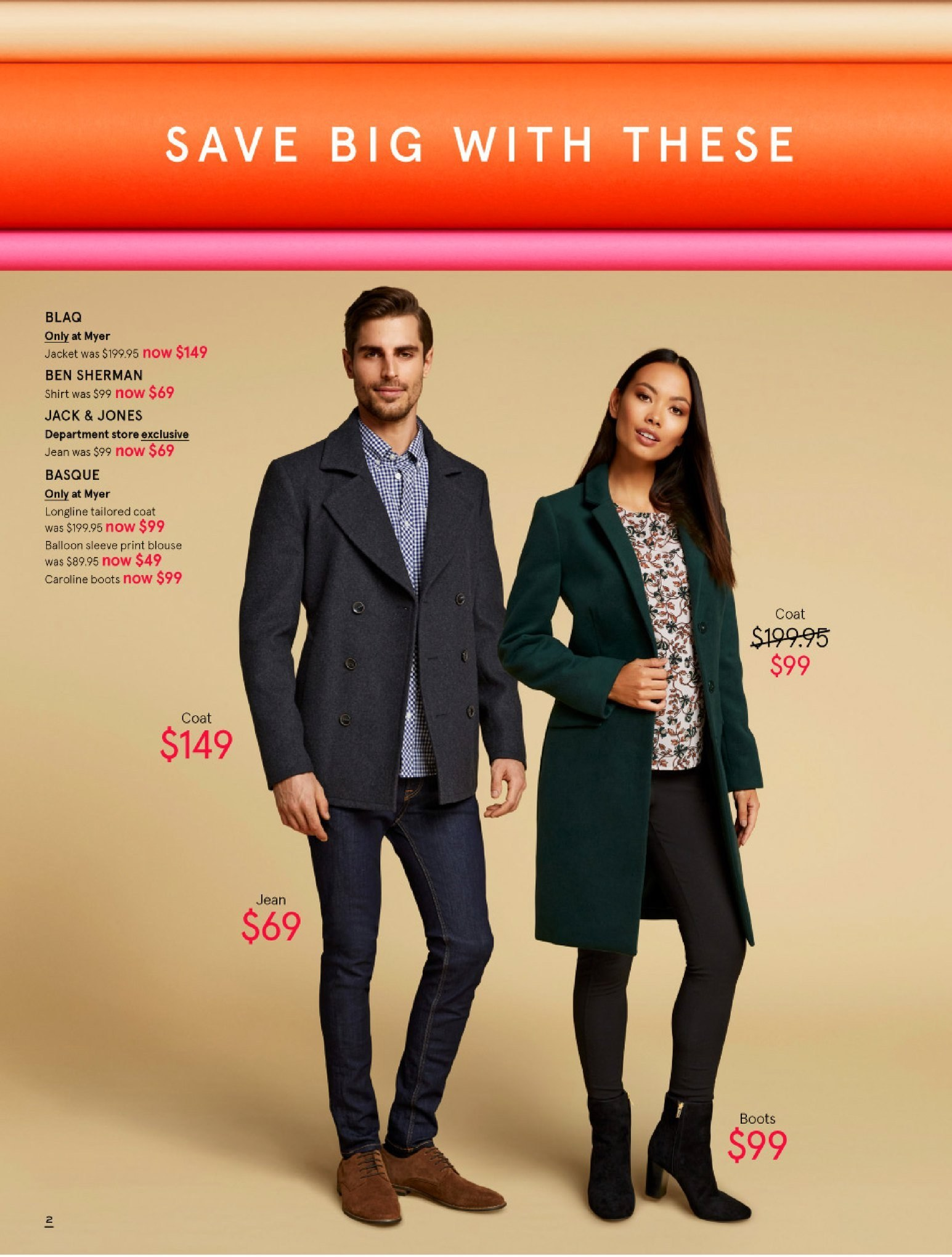 Myer catalogue  - 30.5.2018 - 8.7.2018. Page 2.