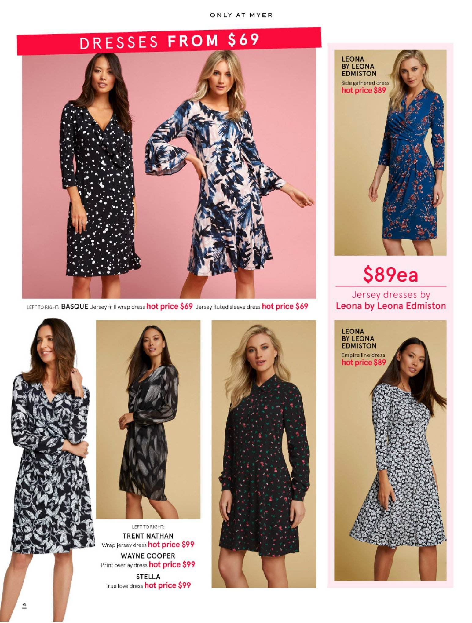 Myer catalogue  - 30.5.2018 - 8.7.2018. Page 4.