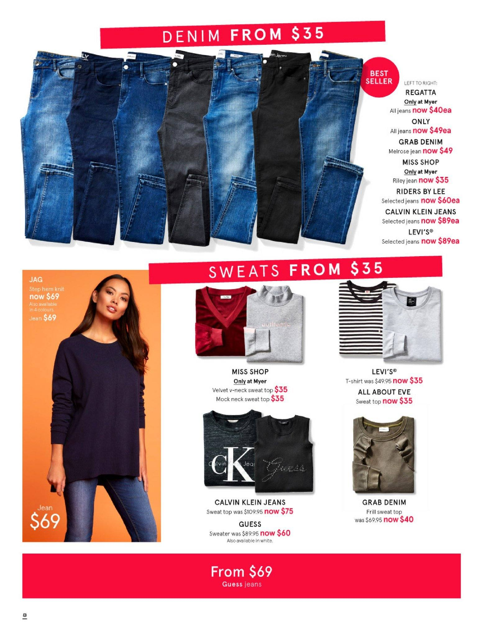 Myer catalogue  - 30.5.2018 - 8.7.2018. Page 8.