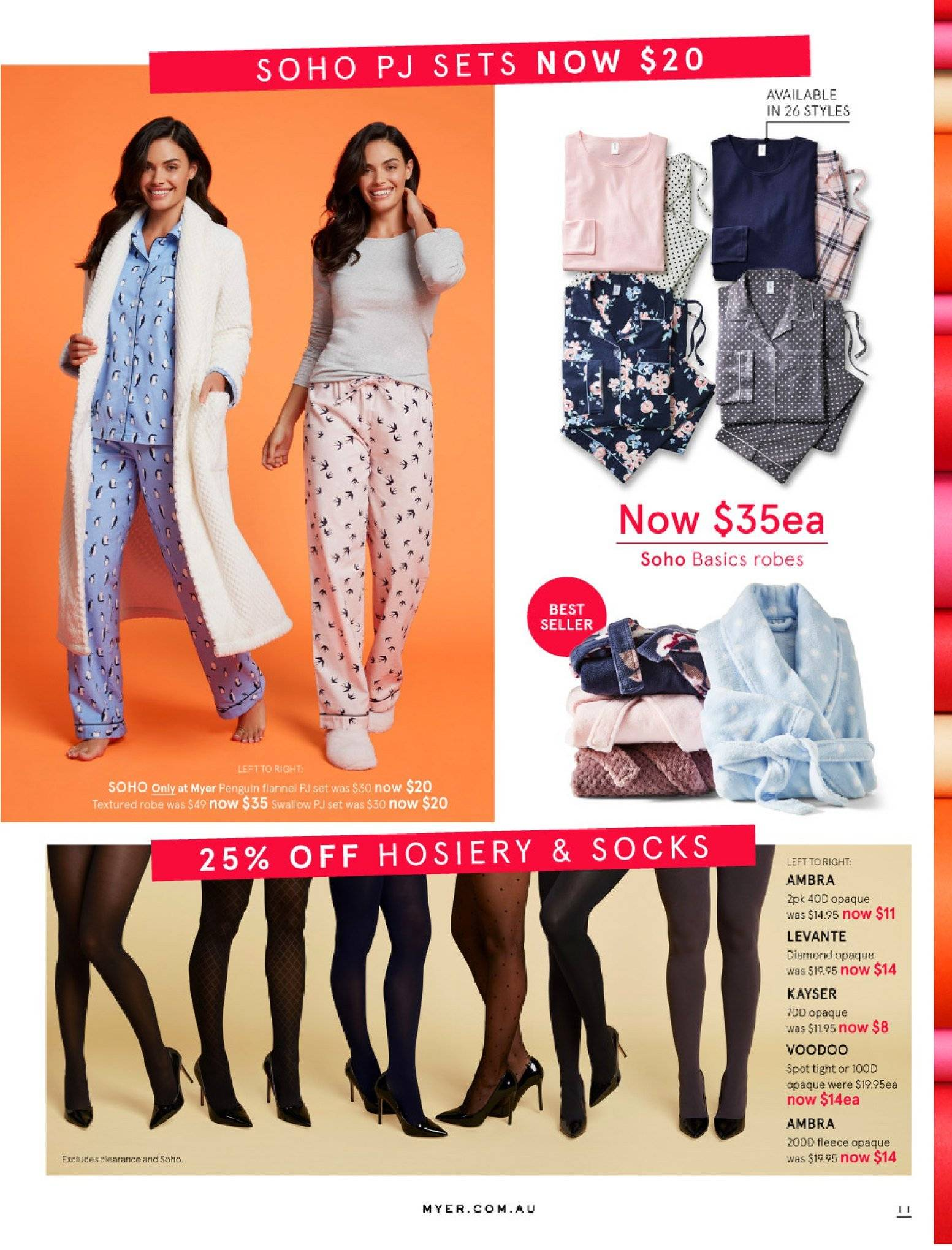 Myer catalogue  - 30.5.2018 - 8.7.2018. Page 11.