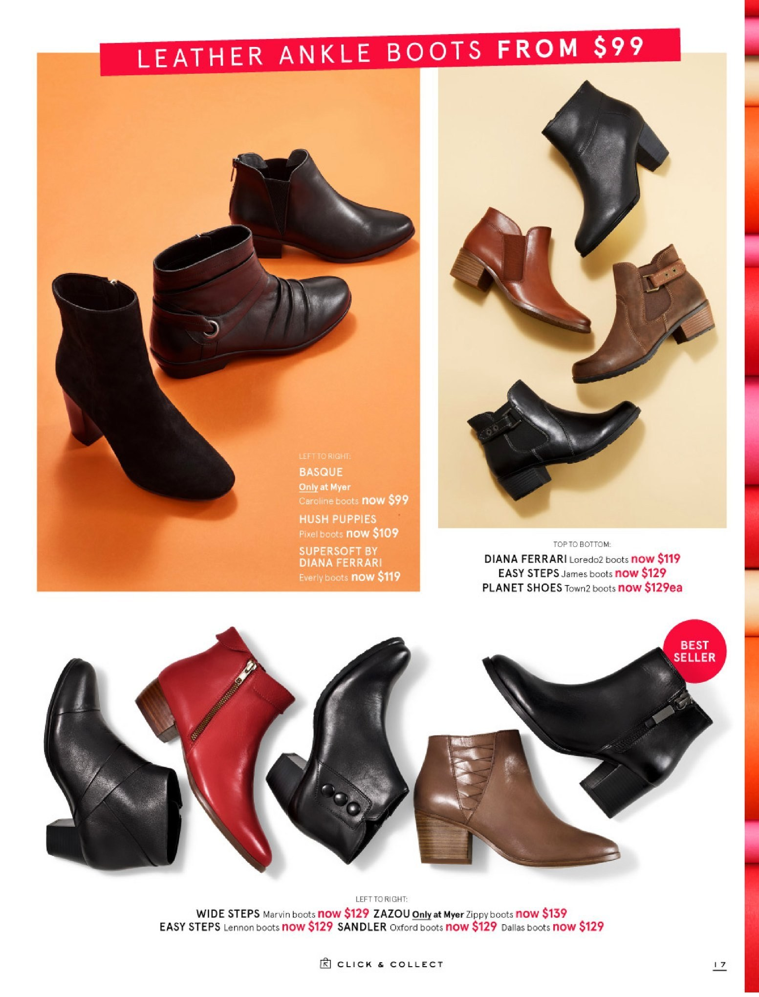 Myer catalogue  - 30.5.2018 - 8.7.2018. Page 17.