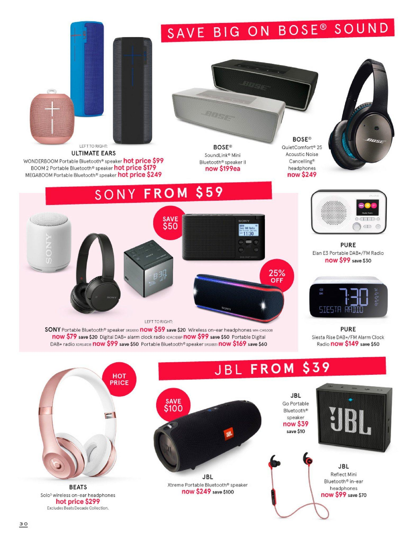 Myer catalogue  - 30.5.2018 - 8.7.2018. Page 30.
