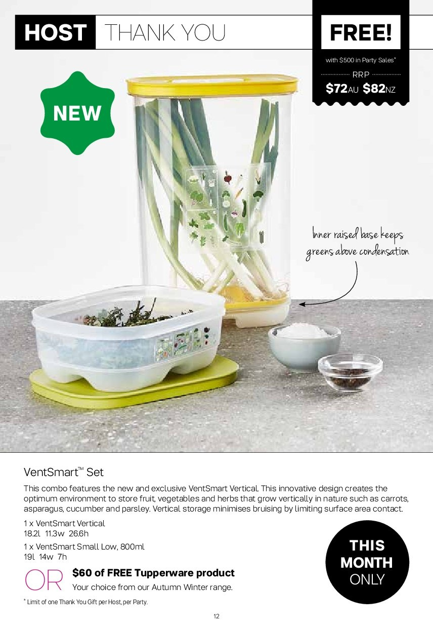 Tupperware catalogue  - 2.7.2018 - 5.8.2018. Page 12.