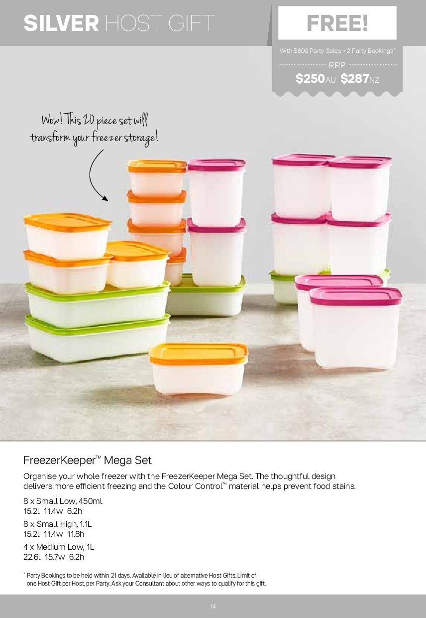 Tupperware catalogue  - 2.7.2018 - 5.8.2018. Page 14.