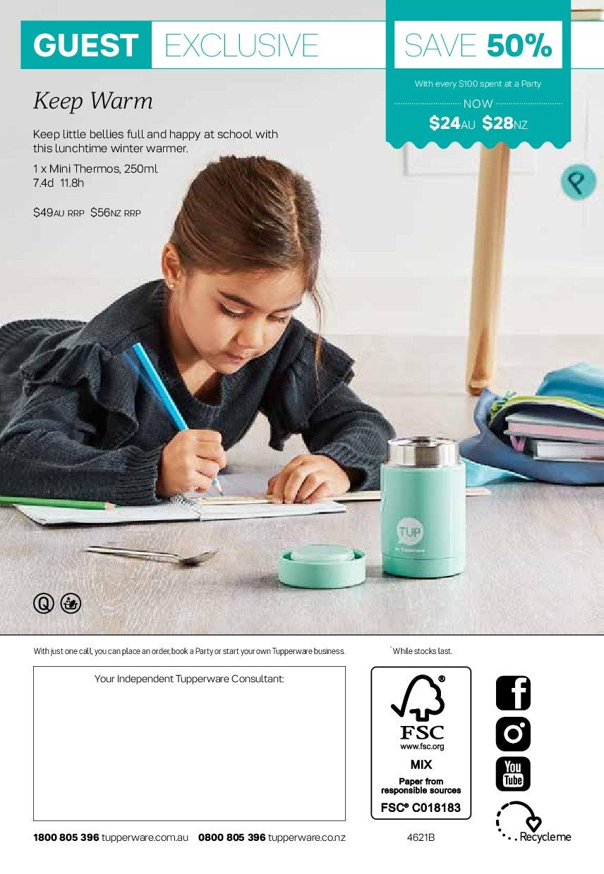 Tupperware catalogue  - 2.7.2018 - 5.8.2018. Page 16.