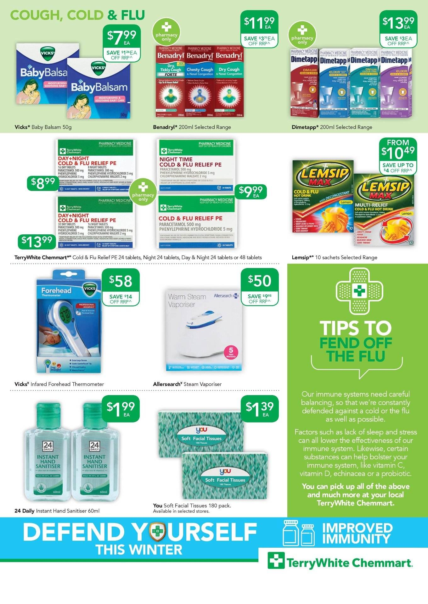 TerryWhite Chemmart catalogue  - 19.7.2018 - 7.8.2018. Page 3.