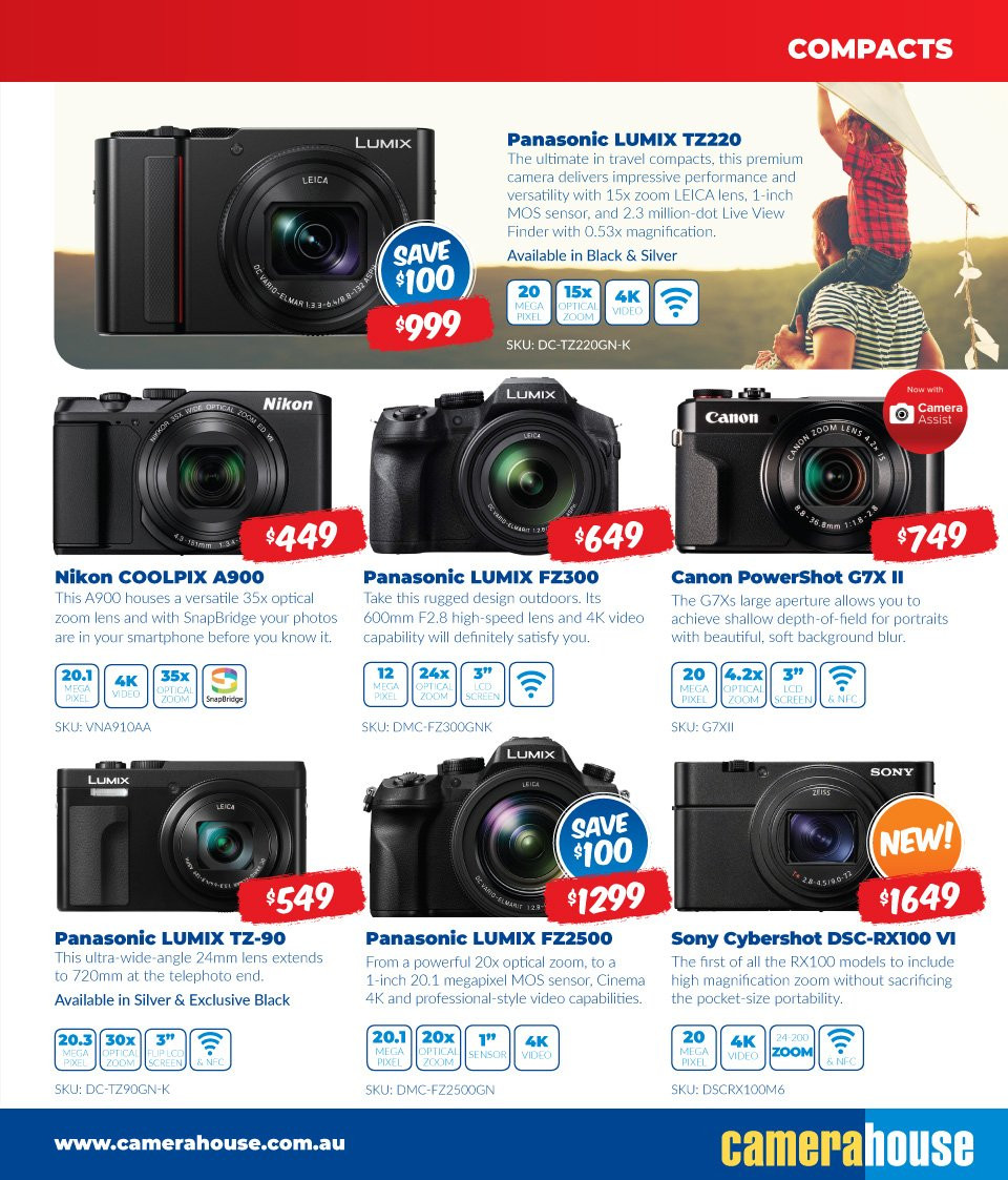 Camera House catalogue  - 6.8.2018 - 2.9.2018. Page 3.