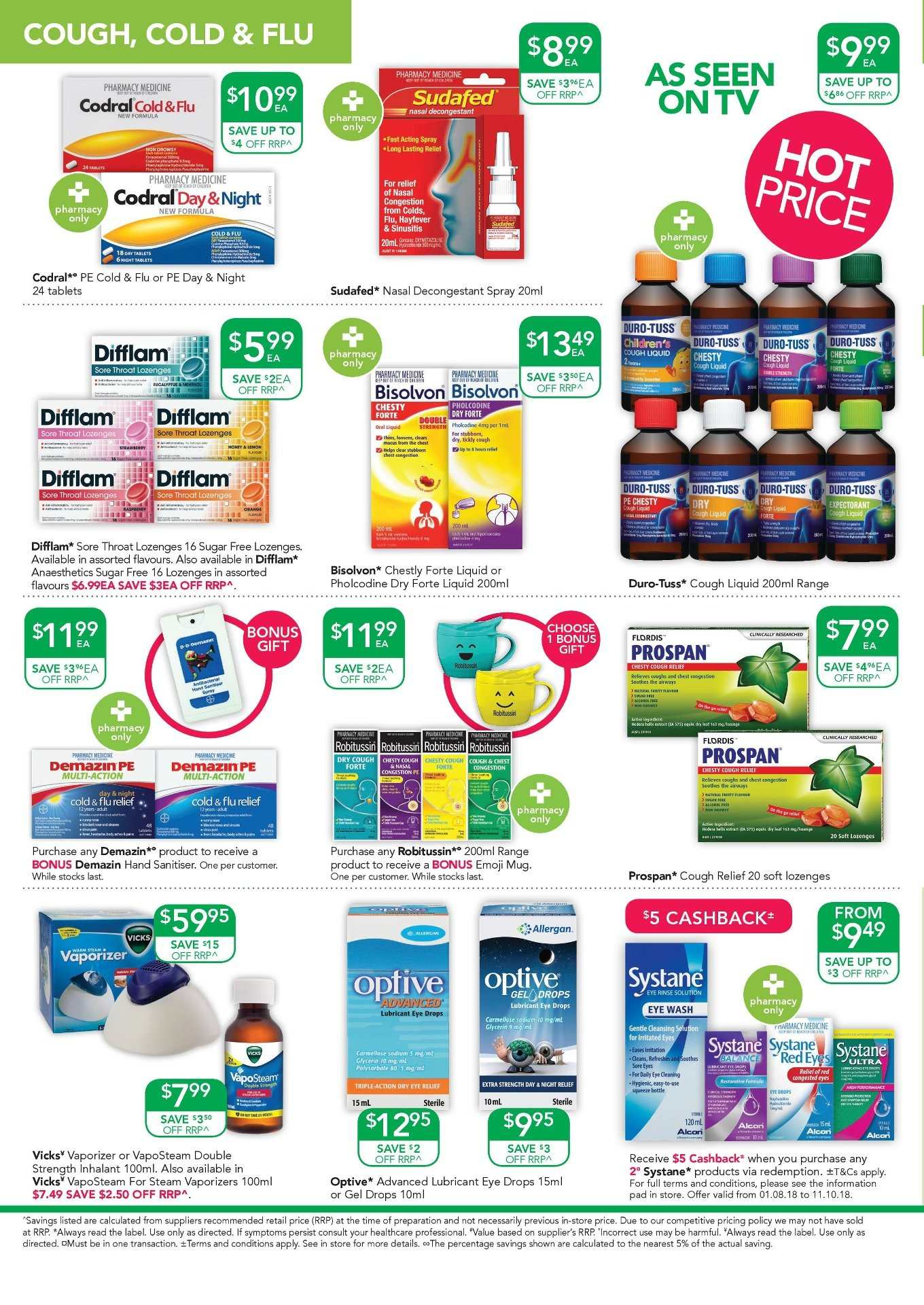 TerryWhite Chemmart catalogue  - 9.8.2018 - 28.8.2018. Page 6.