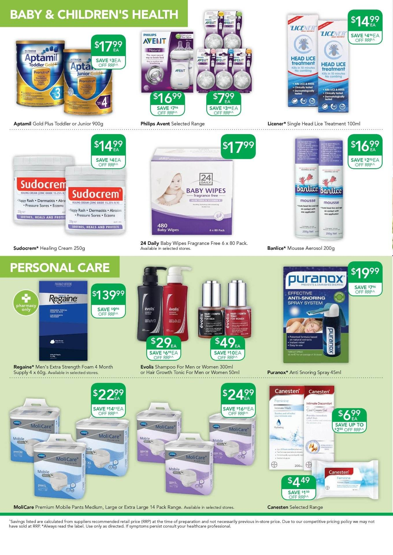 TerryWhite Chemmart catalogue  - 9.8.2018 - 28.8.2018. Page 8.