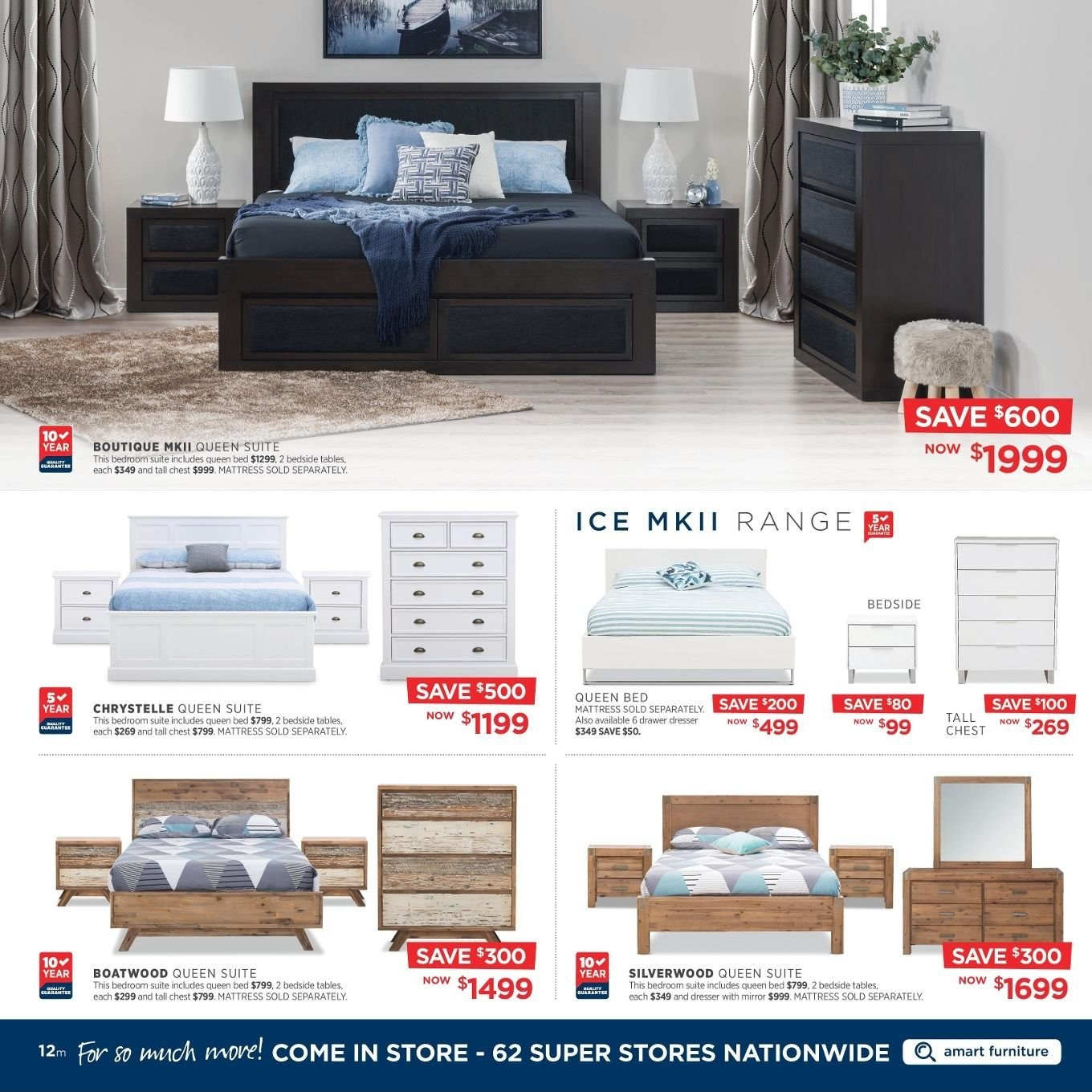 Amart Furniture catalogue  - 27.8.2018 - 26.9.2018. Page 12.