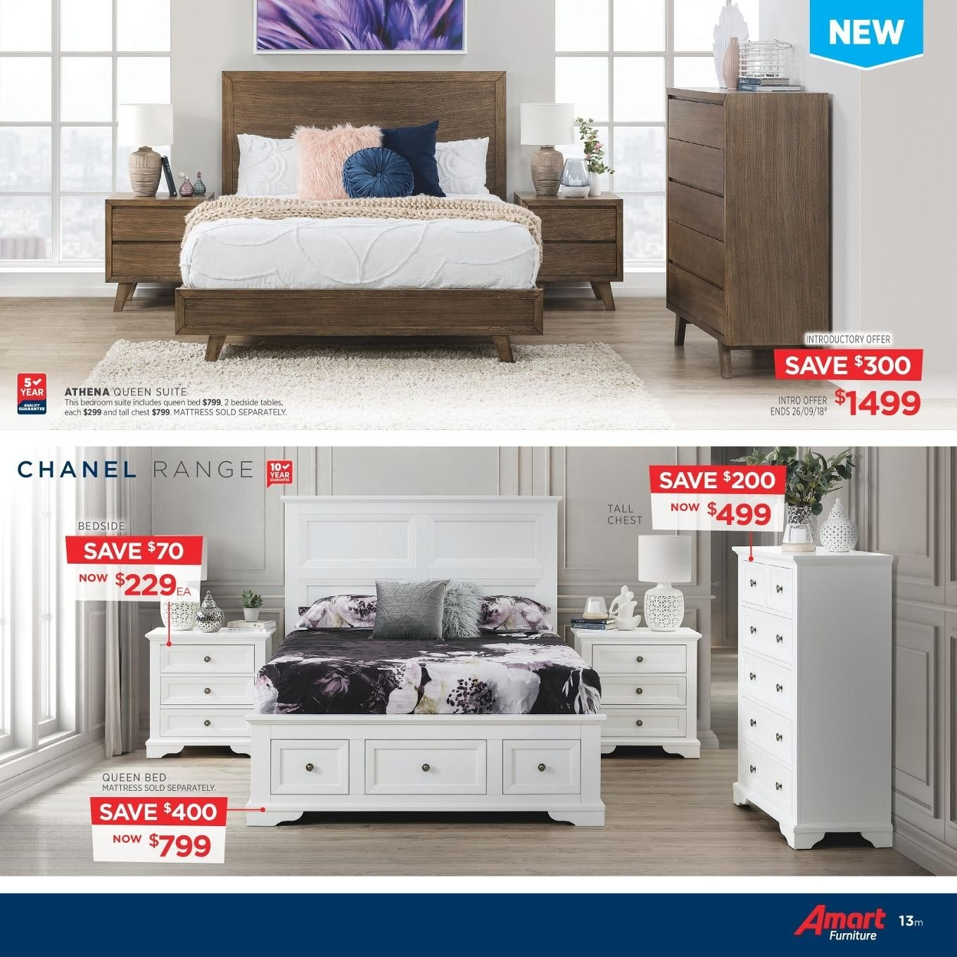 Amart Furniture catalogue  - 27.8.2018 - 26.9.2018. Page 13.