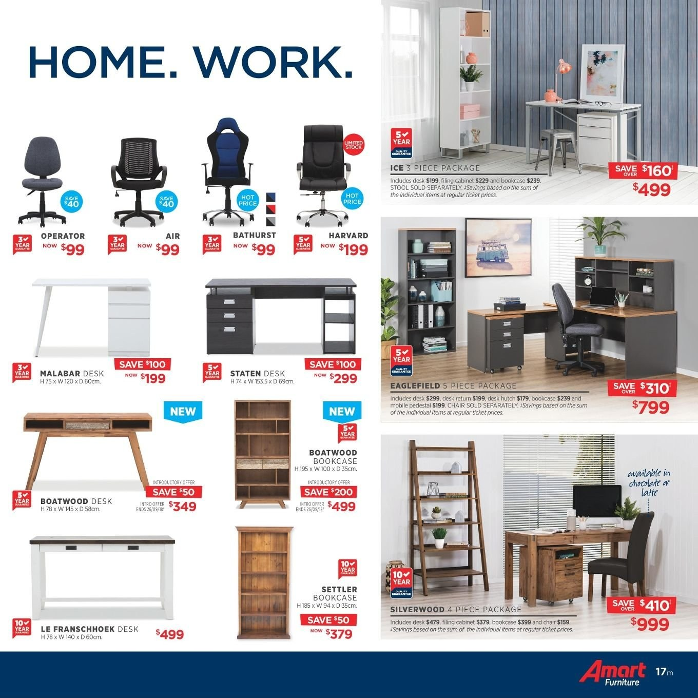 Amart Furniture catalogue  - 27.8.2018 - 26.9.2018. Page 17.