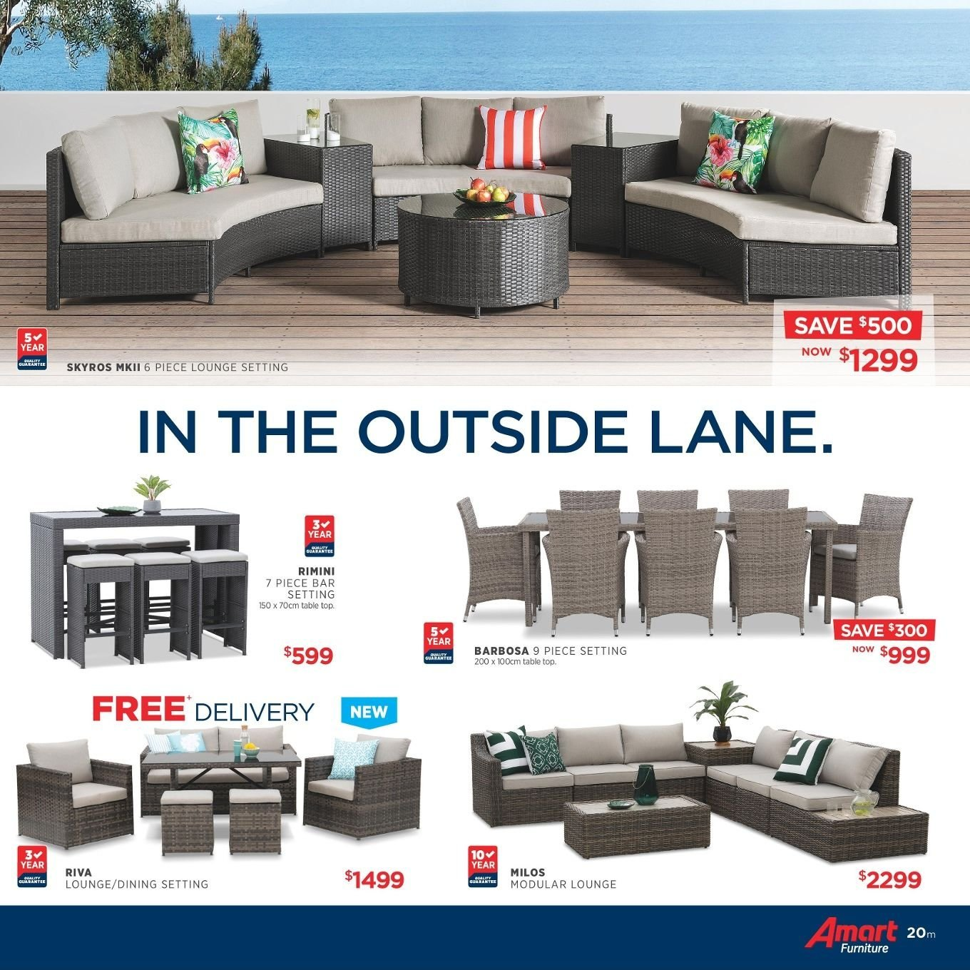 Amart Furniture catalogue  - 27.8.2018 - 26.9.2018. Page 20.