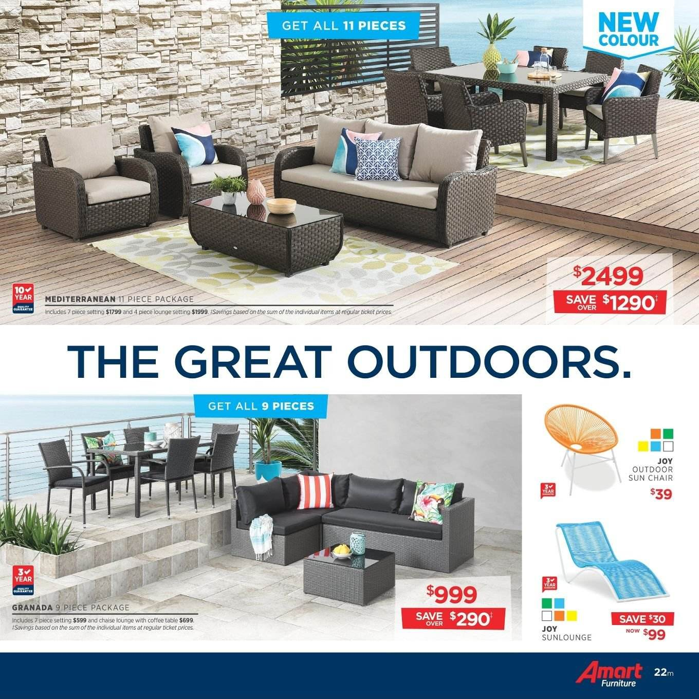 Amart Furniture catalogue  - 27.8.2018 - 26.9.2018. Page 22.