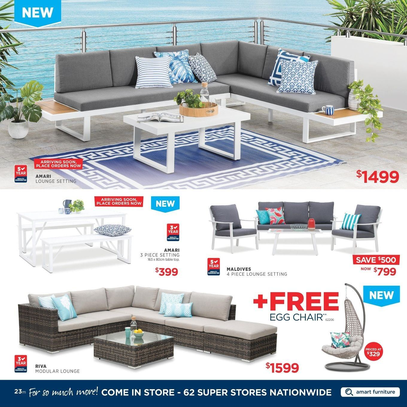 Amart Furniture catalogue  - 27.8.2018 - 26.9.2018. Page 23.
