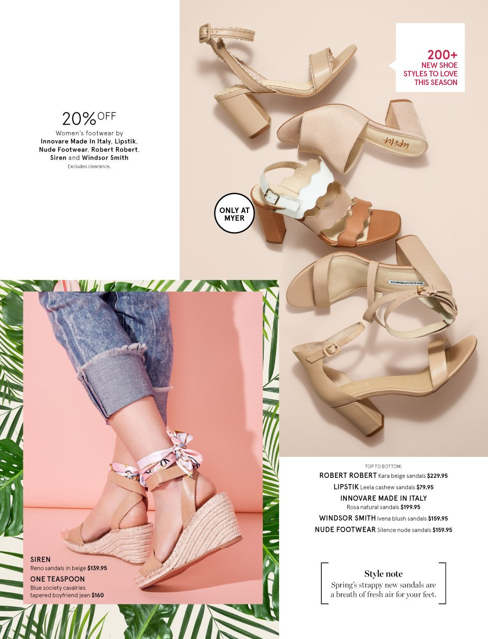 Myer catalogue  - 1.9.2018 - 16.9.2018. Page 6.