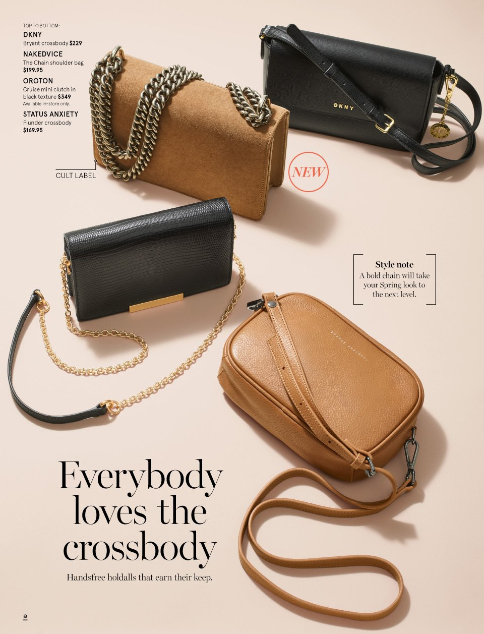 Myer catalogue  - 1.9.2018 - 16.9.2018. Page 8.
