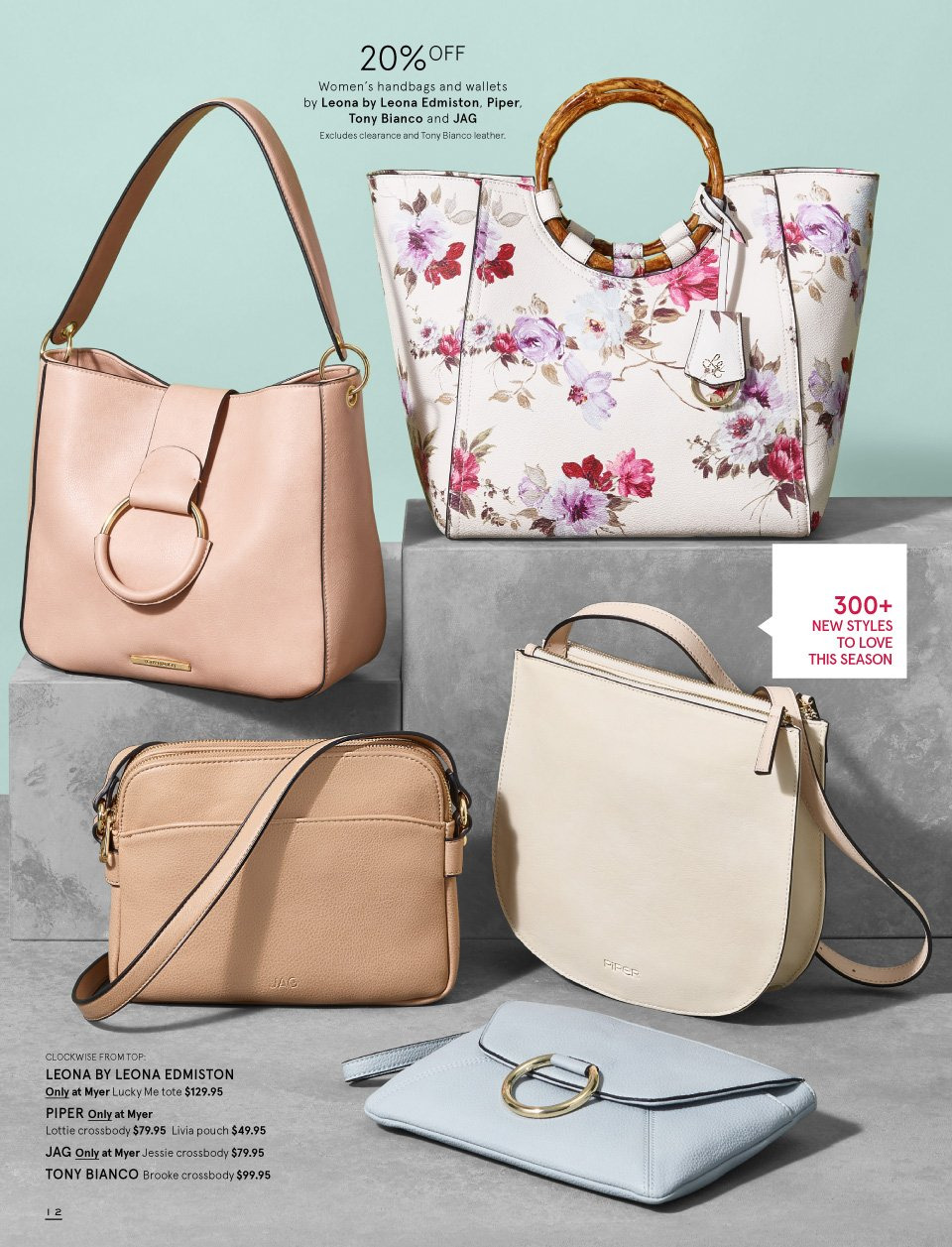 Myer catalogue  - 1.9.2018 - 16.9.2018. Page 12.