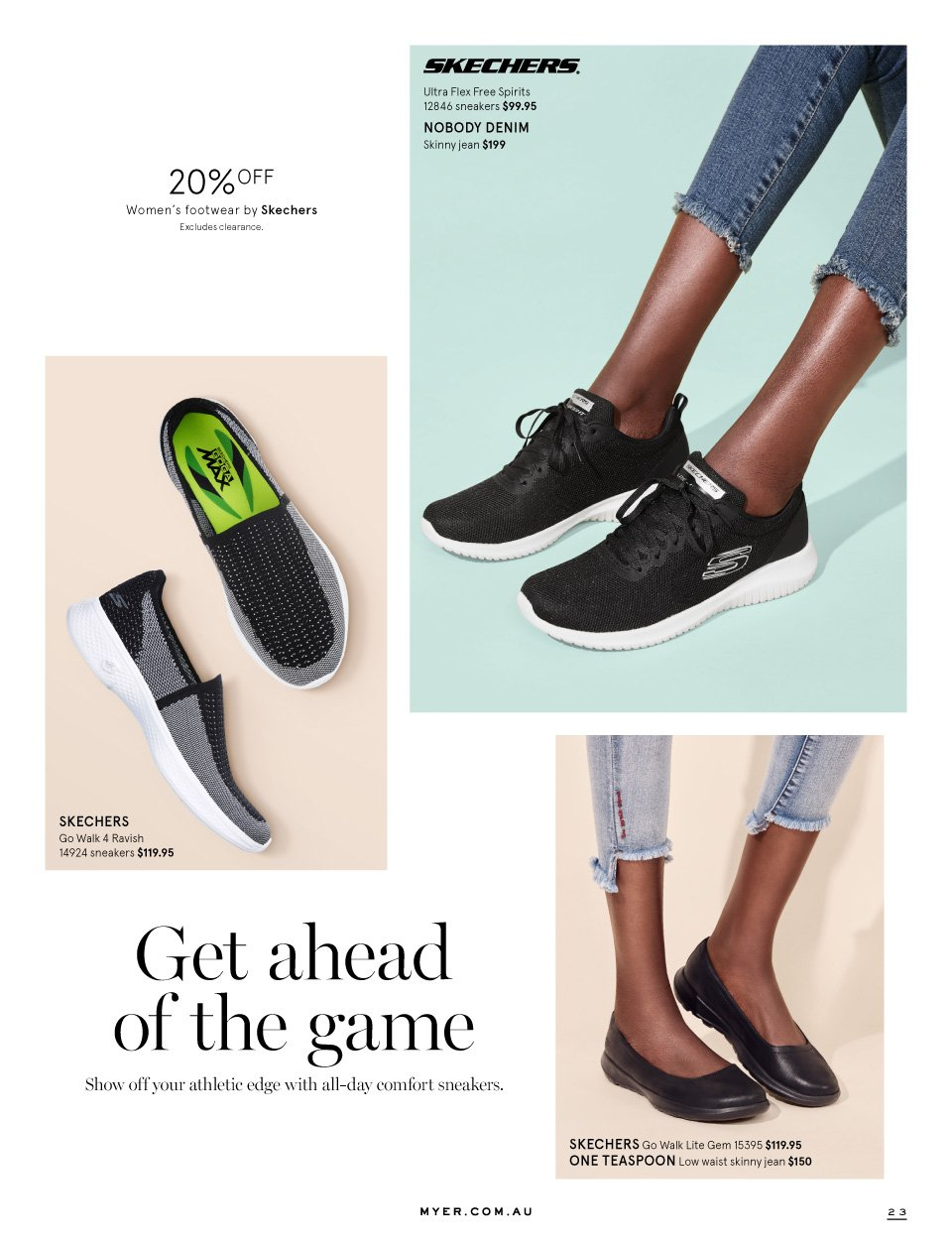 Myer catalogue  - 1.9.2018 - 16.9.2018. Page 23.