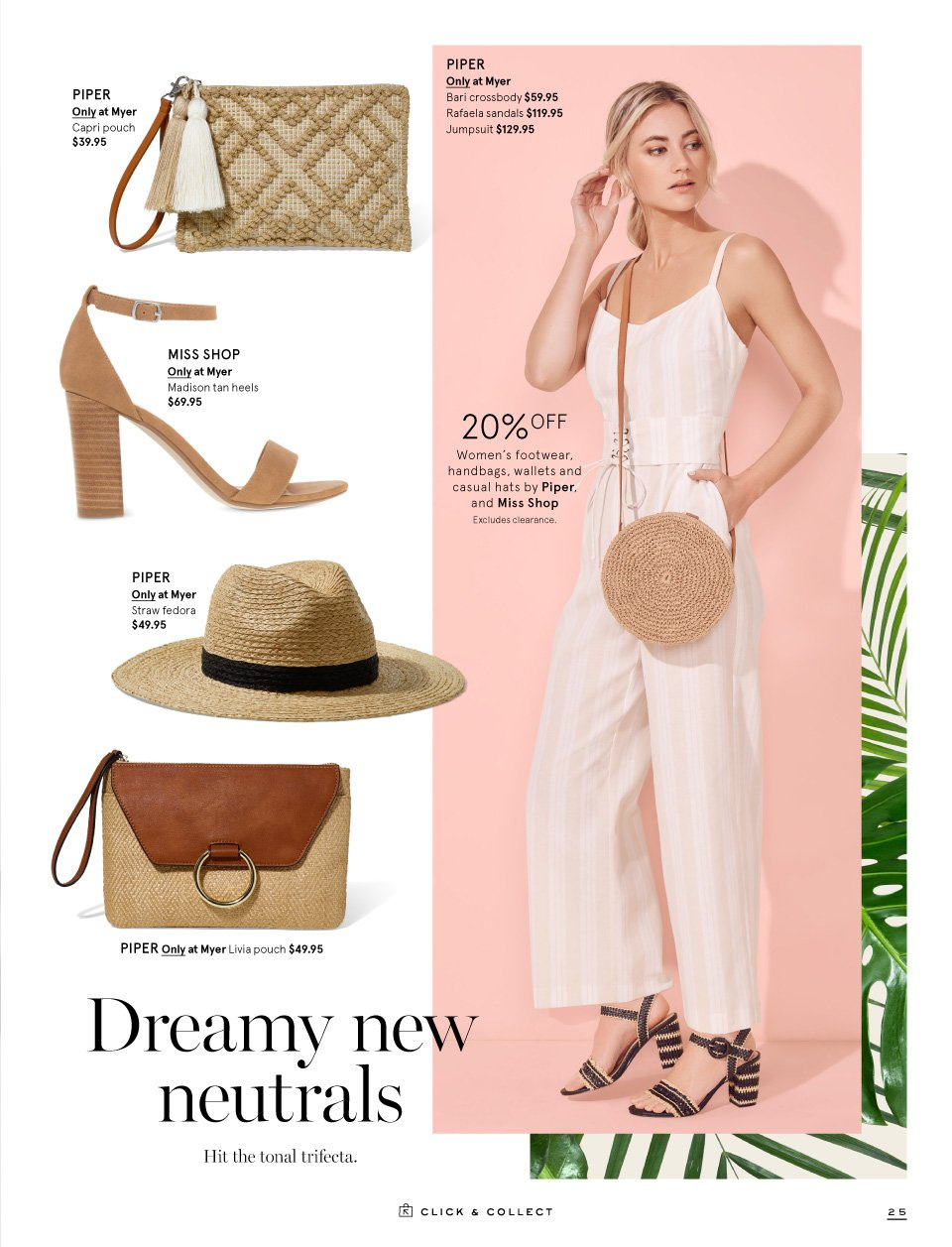 Myer catalogue  - 1.9.2018 - 16.9.2018. Page 25.