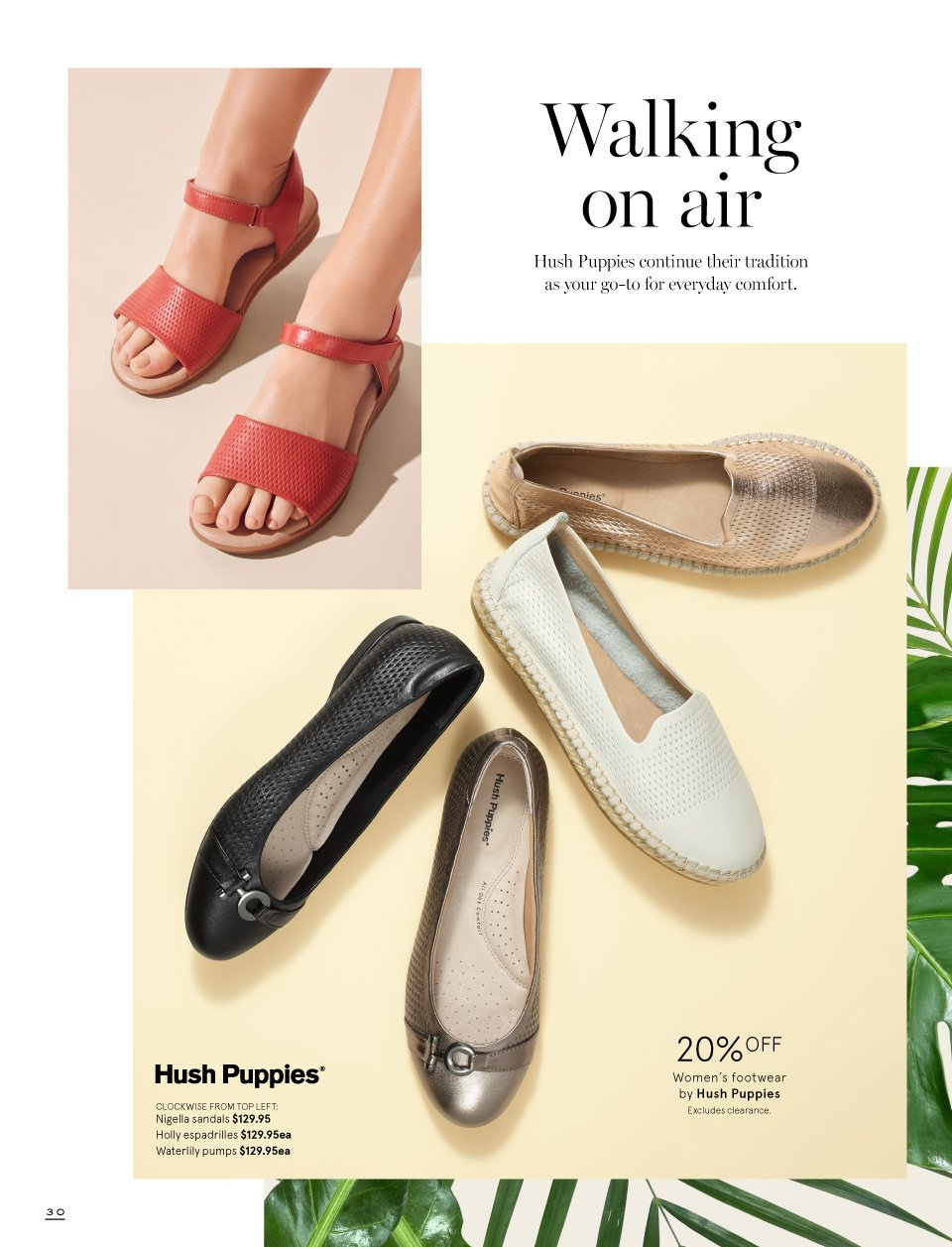 Myer catalogue  - 1.9.2018 - 16.9.2018. Page 30.