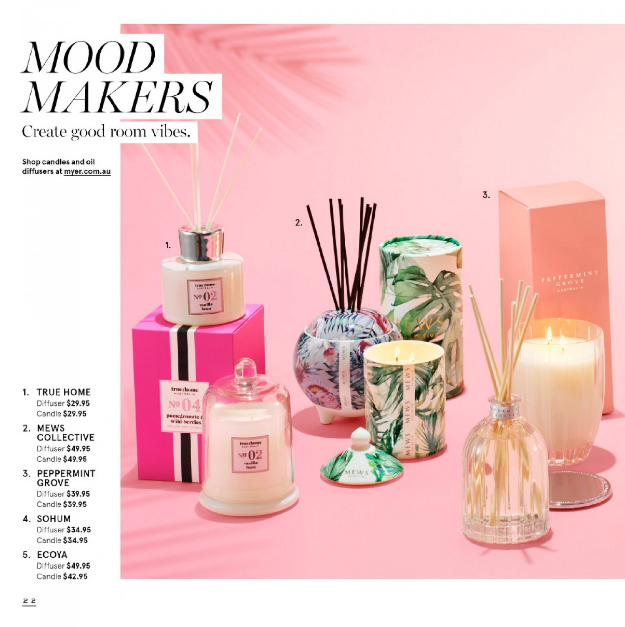 Myer catalogue  - 4.9.2018 - 23.9.2018. Page 22.