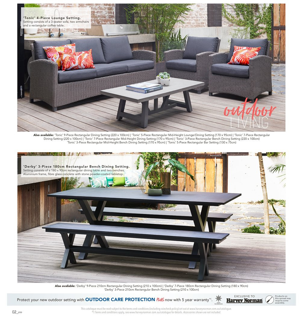 Harvey Norman catalogue  - 7.9.2018 - 30.9.2018. Page 2.