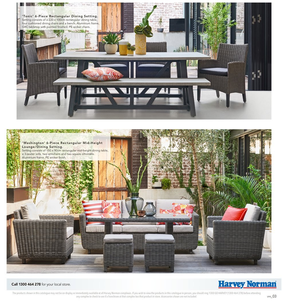 Harvey Norman catalogue  - 7.9.2018 - 30.9.2018. Page 3.