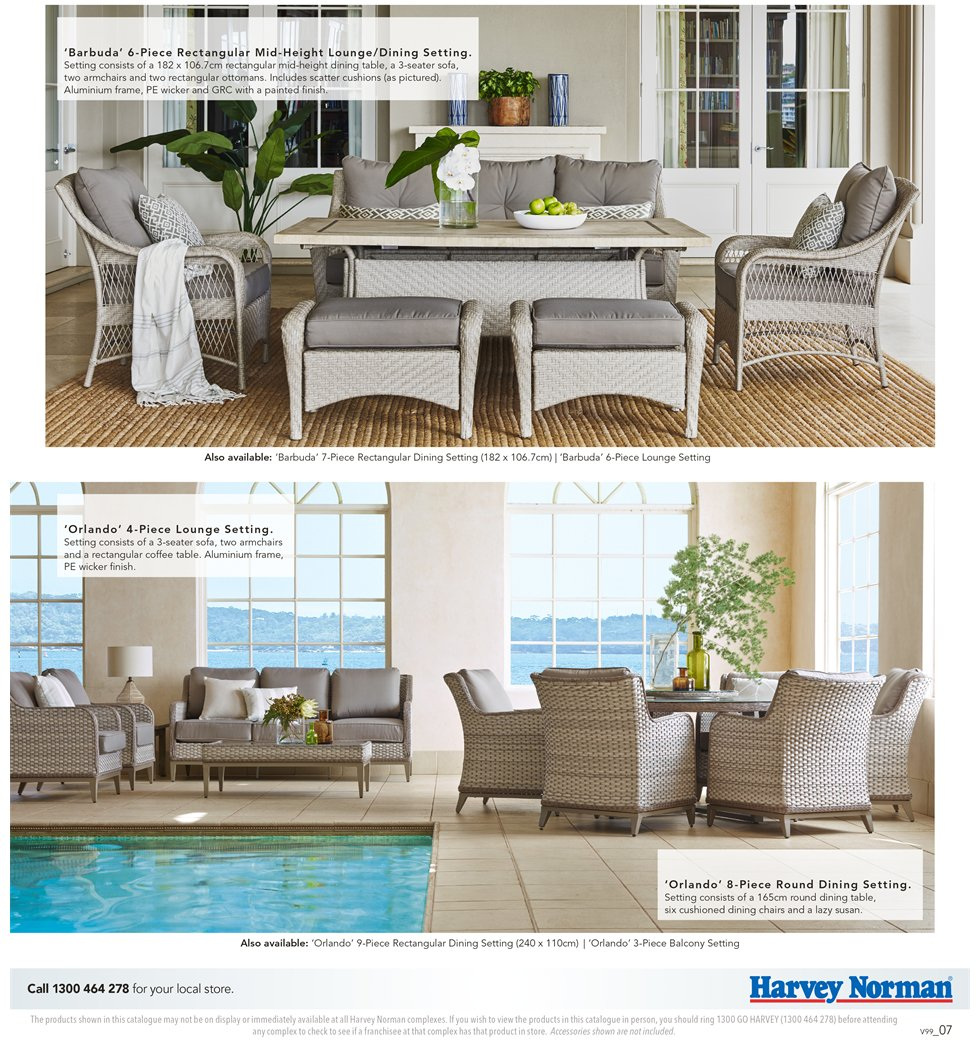 Harvey Norman catalogue  - 7.9.2018 - 30.9.2018. Page 7.