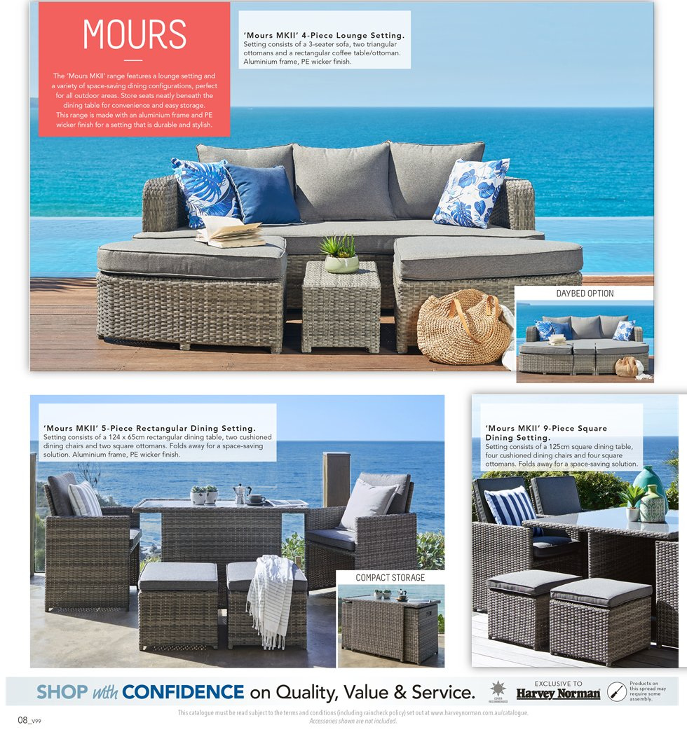 Harvey Norman catalogue  - 7.9.2018 - 30.9.2018. Page 8.