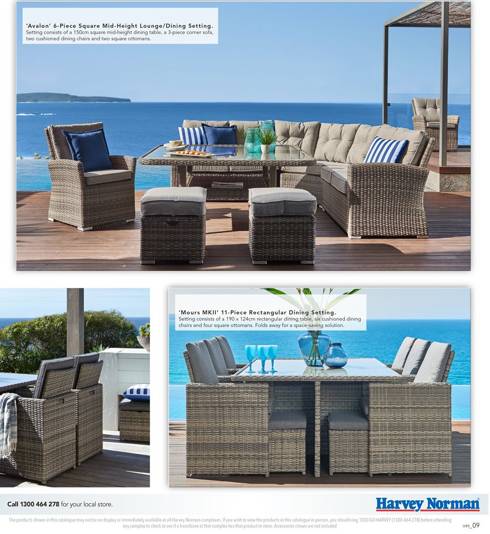Harvey Norman catalogue  - 7.9.2018 - 30.9.2018. Page 9.
