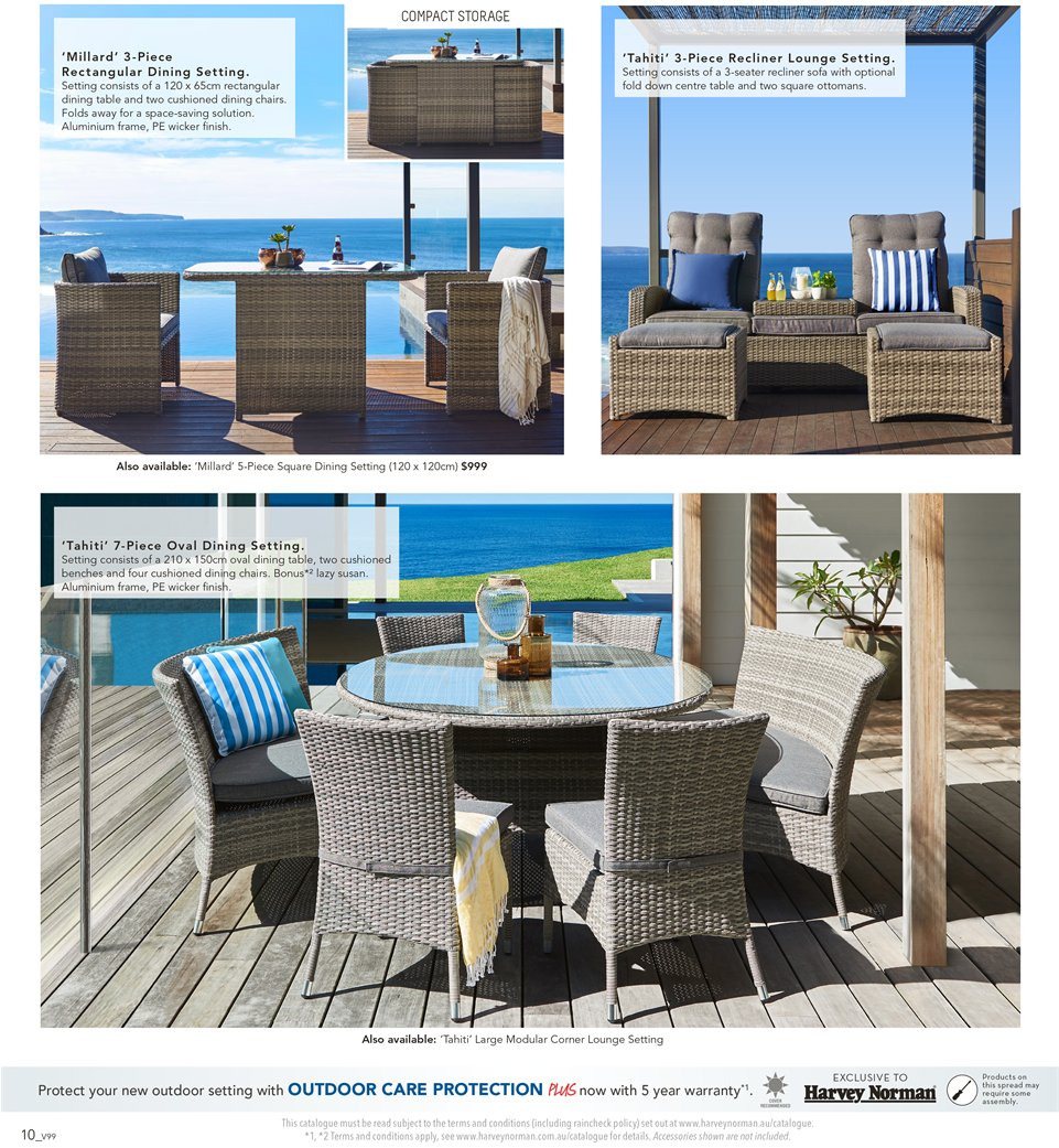 Harvey Norman catalogue  - 7.9.2018 - 30.9.2018. Page 10.