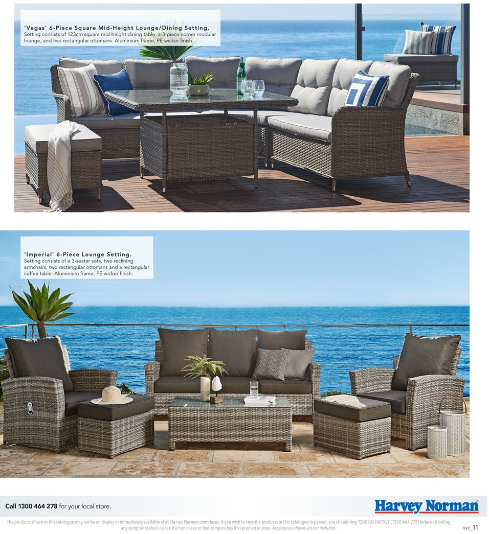 Harvey Norman catalogue  - 7.9.2018 - 30.9.2018. Page 11.