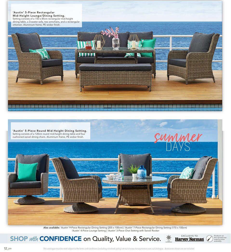 Harvey Norman catalogue  - 7.9.2018 - 30.9.2018. Page 12.