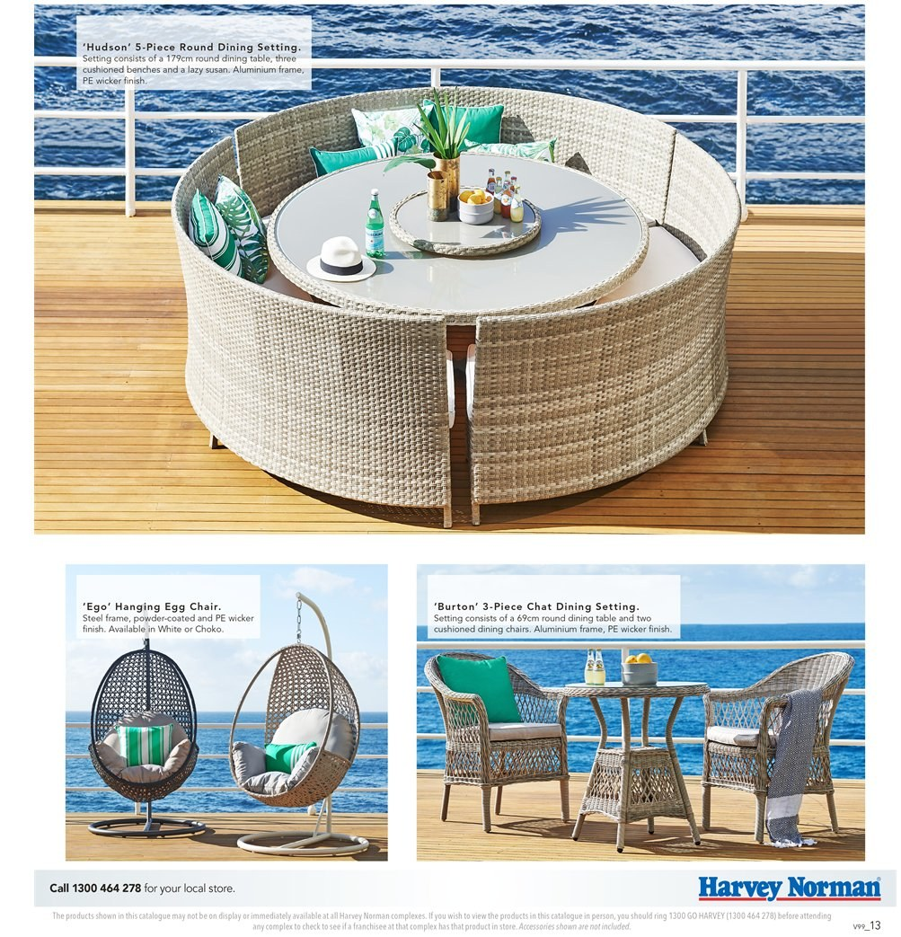 Harvey Norman catalogue  - 7.9.2018 - 30.9.2018. Page 13.
