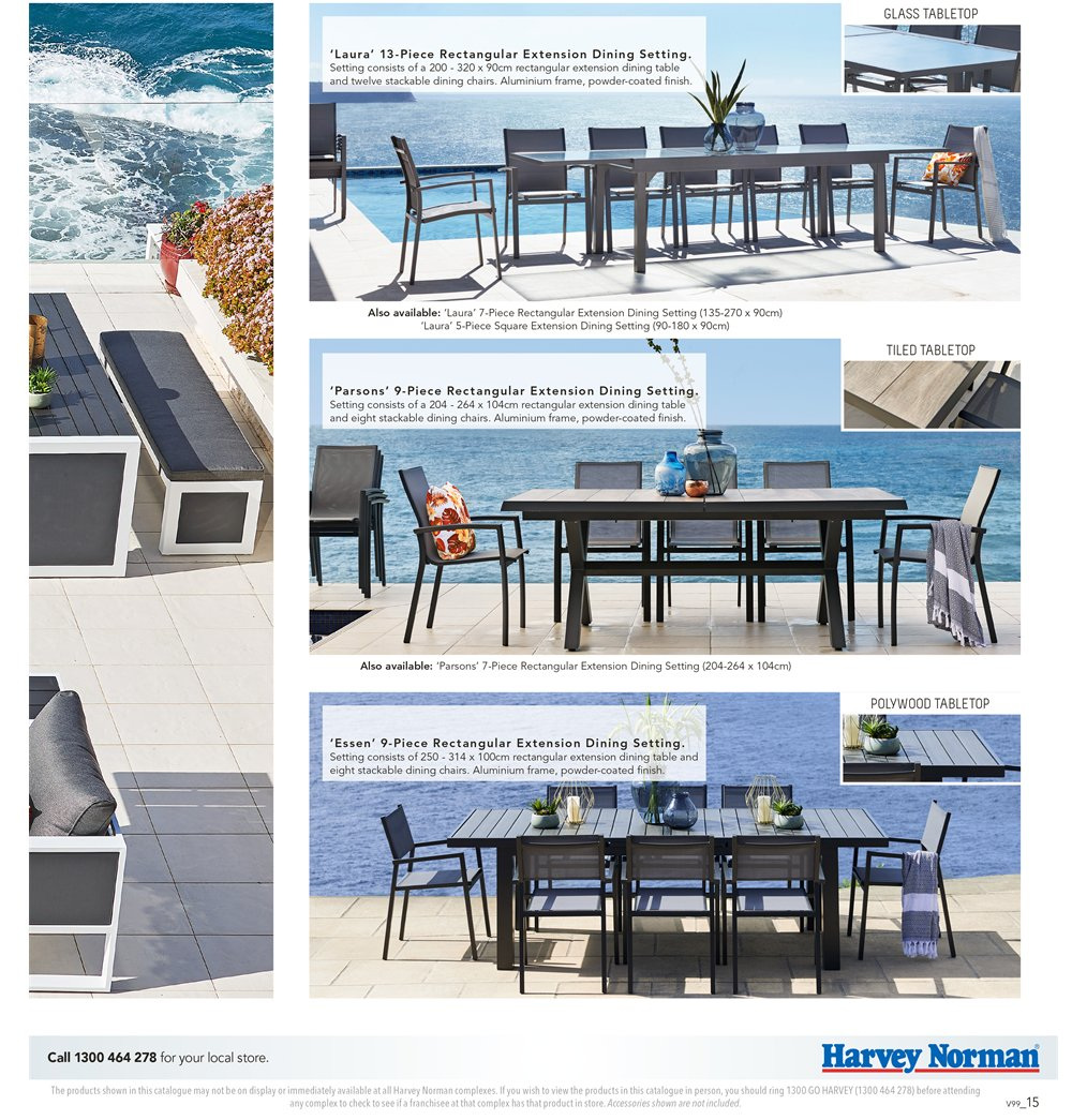Harvey Norman catalogue  - 7.9.2018 - 30.9.2018. Page 15.