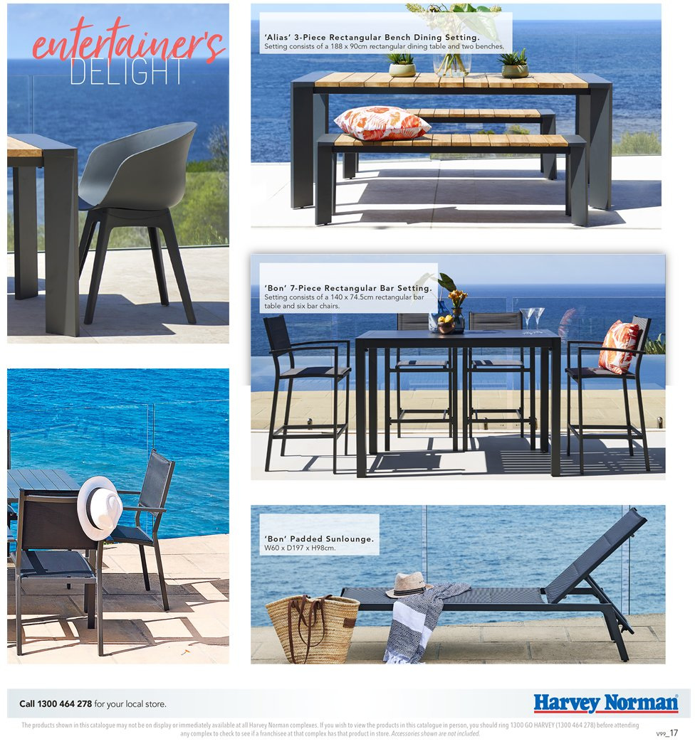 Harvey Norman catalogue  - 7.9.2018 - 30.9.2018. Page 17.