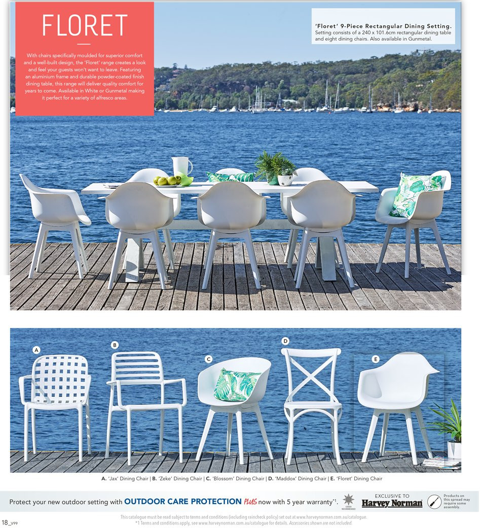 Harvey Norman catalogue  - 7.9.2018 - 30.9.2018. Page 18.