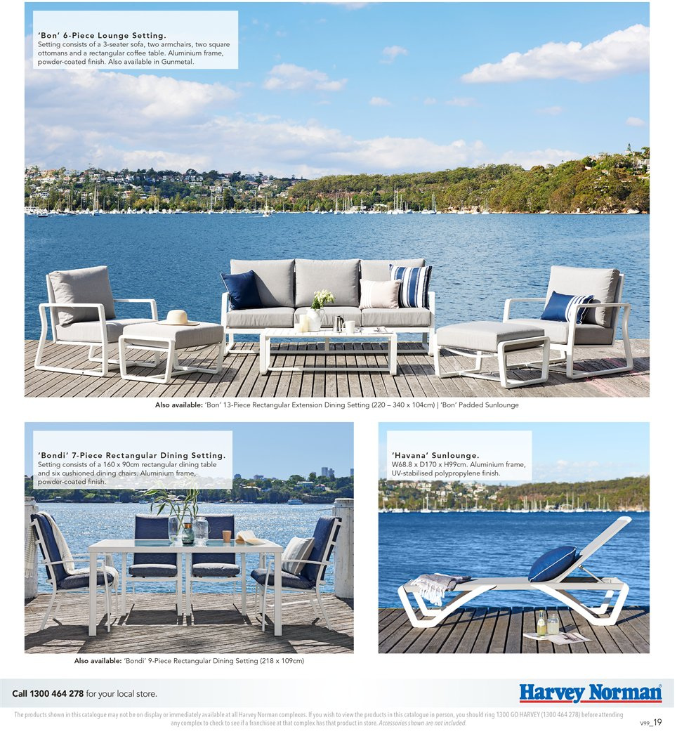 Harvey Norman catalogue  - 7.9.2018 - 30.9.2018. Page 19.