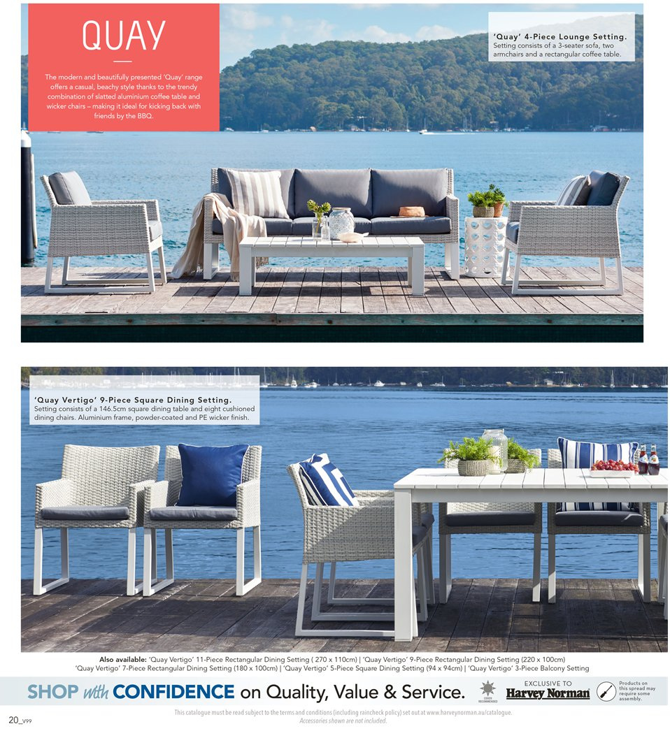 Harvey Norman catalogue  - 7.9.2018 - 30.9.2018. Page 20.