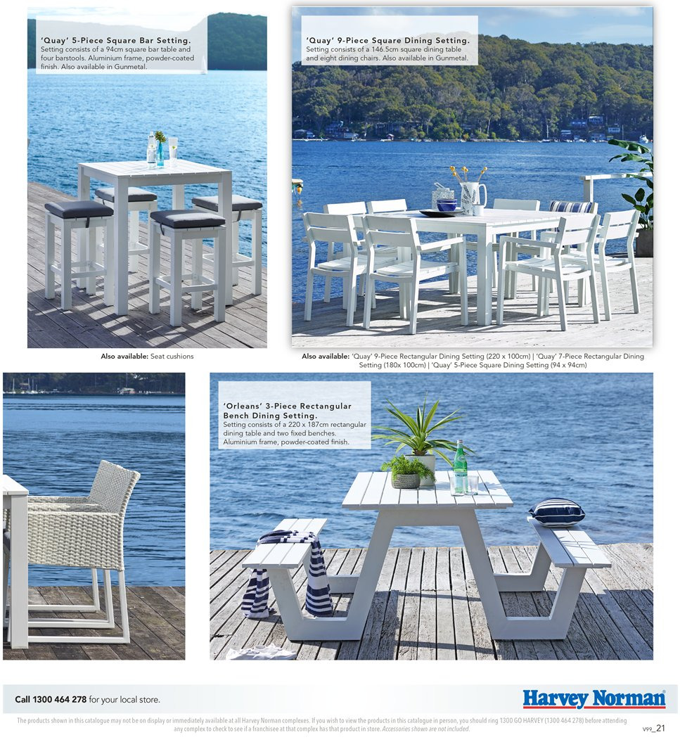 Harvey Norman catalogue  - 7.9.2018 - 30.9.2018. Page 21.