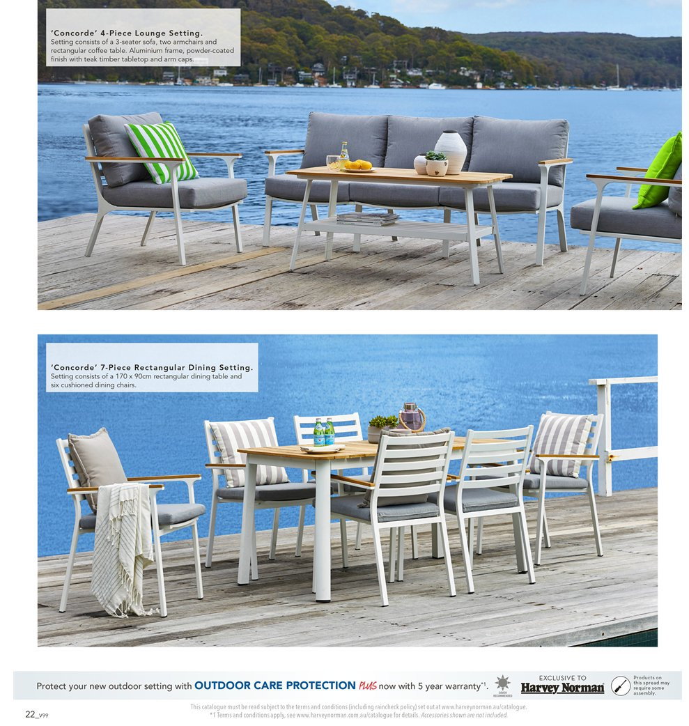Harvey Norman catalogue  - 7.9.2018 - 30.9.2018. Page 22.