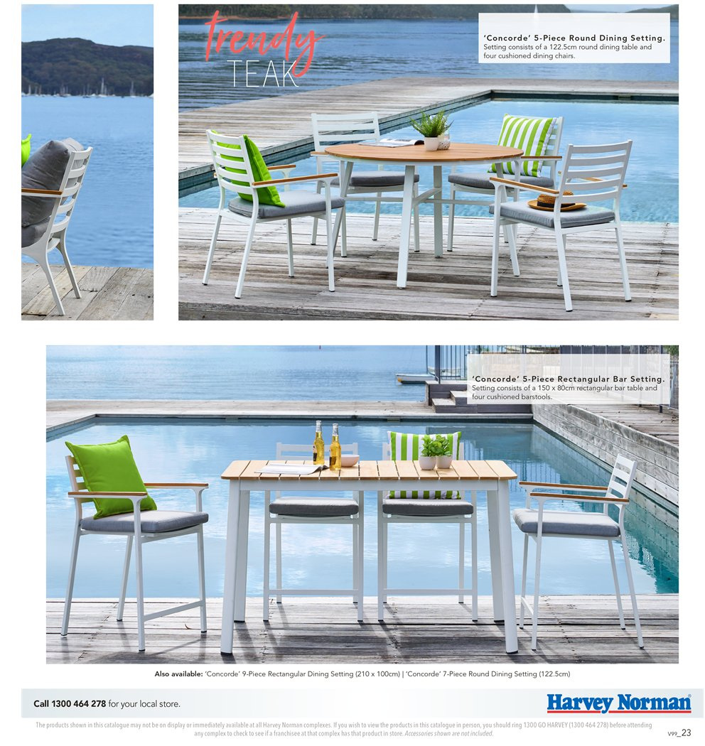 Harvey Norman catalogue  - 7.9.2018 - 30.9.2018. Page 23.