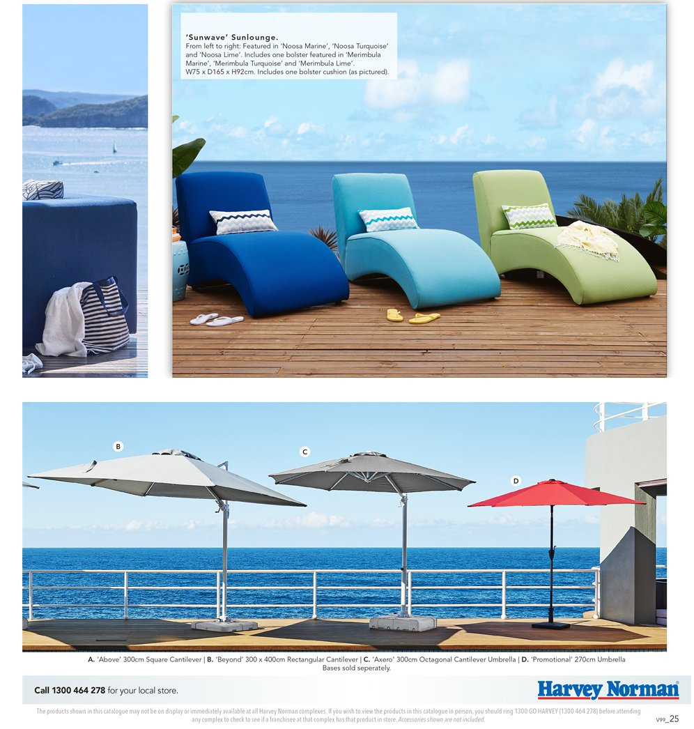 Harvey Norman catalogue  - 7.9.2018 - 30.9.2018. Page 25.